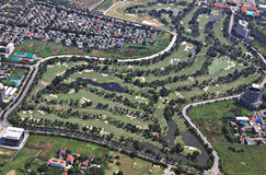 Bangkok-Golfplatz Lizenzfreie Stockfotos