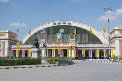 Bangkok Grand Central Terminal Railway Station. Hua Lamphong Railway Station. Bangkok, Thailand Stock Image