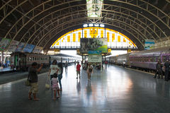 Bangkok Grand Central Terminal Railway Station (indoor). Hua Lamphong Railway Station. Bangkok, Thailand Stock Photo