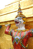 Bangkok, Grand Palace. The Demon Guards Royalty Free Stock Photos