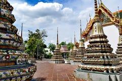 Bangkok Grand Palace Monuments colourful royalty free stock images