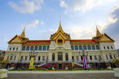 Bangkok Grand Palace, next to Wat Phra Kaew temple Royalty Free Stock Photography