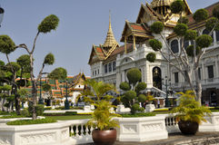Bangkok Grand Palace. Bangkok's most famous landmark. Within the complex there are several impressive buildings including Grand Palace and Wat Phra Kaew (Temple Royalty Free Stock Images