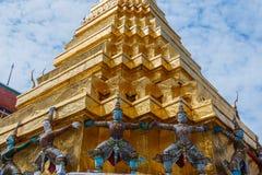 Bangkok-Grand Palace & Temple of the Emerald Buddha or Wat Phra Kaeo in Bangkok, Thailand Royalty Free Stock Image