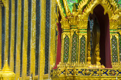 Bangkok, Grand Royal Palace,. Bangkok, Grand Royal Palace decorative details,Thailand Royalty Free Stock Image