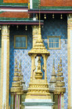 Bangkok, Grand Royal Palace. Wat Phra Kaeo, decorative details Royalty Free Stock Photo