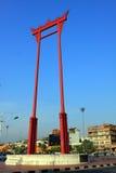 Bangkok-Grenzstein - riesiges Schwingen Lizenzfreies Stockfoto