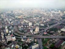 Bangkok from height of the bird\\\'s flight. Stock Photo