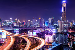 Bangkok High Angle View Stock Photography