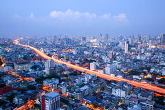 Bangkok Highway Royalty Free Stock Photo