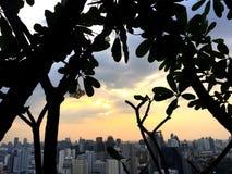 Bangkok-Himmel Scrapper stockfoto