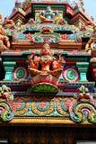 Bangkok Hindu temple. Bangkok landmark, Thailand -  Sri Mariamman Hindu temple Stock Photos