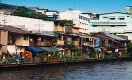 Bangkok homes Royalty Free Stock Photos