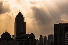 Bangkok hopp Arkivbild