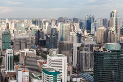 bangkok horisont thailand Royaltyfri Fotografi