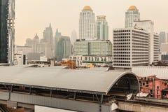 Bangkok i morgonen Arkivbild