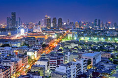Bangkok In The Night Royalty Free Stock Photo
