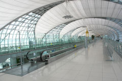 Bangkok international airport royalty free stock photography