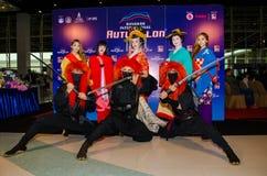 Bangkok International Auto Salon 2015 Stock Photos