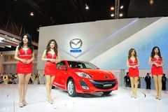 Bangkok International Motor Show Royalty Free Stock Image