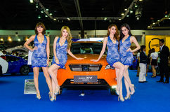 Bangkok-Internationale Automobilausstellung 2015 Lizenzfreie Stockfotos