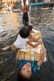 Bangkok inunda 2011 Fotografía de archivo