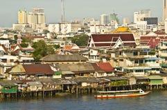 Bangkok and its river Stock Photography
