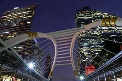BANGKOK - JAN 20: Sky walk architecture for passengers to transi Royalty Free Stock Photography