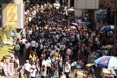 BANGKOK - 13. JANUAR 2014: Protestierender gegen die Regierung ral Stockfotografie