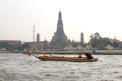 BANGKOK january 5 :Ferry boat at Chao Phraya River, Chao Phraya Royalty Free Stock Photos