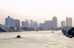 BANGKOK january 2 :Ferry boat at Chao Phraya River, Chao Phraya Royalty Free Stock Image