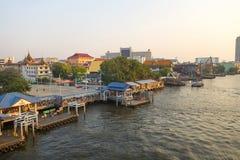BANGKOK january 2 :Ferry boat at Chao Phraya River, Chao Phraya Stock Photo