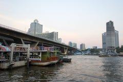 BANGKOK january 2 :Ferry boat at Chao Phraya River, Chao Phraya Stock Photos