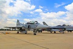 BANGKOK - 2 JUILLET : JAS 39 Gripen Photographie stock