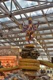 BANGKOK - 8 juillet : Terminal d'aéroport à l'aéroport de Suvarnabhumi Photo stock