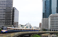 BANGKOK - JULI 07: BTS Royalty-vrije Stock Afbeelding