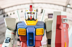 BANGKOK - JULY 5:  Gundum Robot in Royalty Free Stock Images