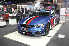 BANGKOK - June 24 : BMW 420d Coupe sport car on display at Bangk Royalty Free Stock Image