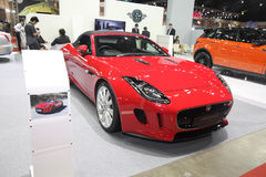 BANGKOK - June 24 : Jaguar F-Type car  on display at Bangkok Int Stock Images