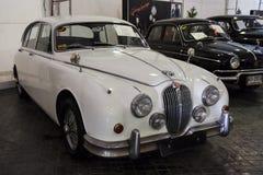 BANGKOK - JUNE 22 Jaguar Mark II 1966 , 3,442 CC , on display at royalty free stock photos