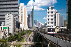 BANGKOK - JUNE 14: Transport in the capital of Tha Stock Photos