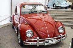 BANGKOK - JUNE 22 Volkswagen Beetle on display at The 36th Bangkok Vintage Car Concours on June 22, 2012 in Bangkok, Thailand stock photography