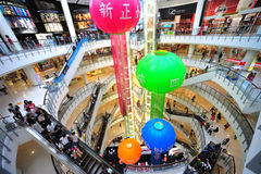 bangkok kinesiskt nytt år Royaltyfri Fotografi