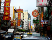 Bangkok kineskvarter Royaltyfri Fotografi