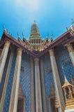Bangkok kings palace ancient temple in thailand. Royalty Free Stock Photography