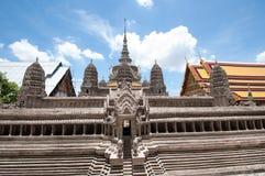 Bangkok kings palace ancient temple in thailand. Royalty Free Stock Photos