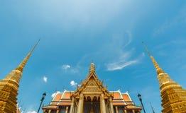 Bangkok kings palace ancient temple thailand Royalty Free Stock Photo