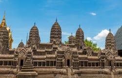 Bangkok kings palace ancient temple thailand Stock Images