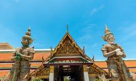Bangkok kings palace ancient temple thailand. Bangkok kings palace ancient temple in thailand Stock Images