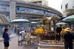 Bangkok kollektivtrafik Fotografering för Bildbyråer